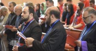 بالصور، وقائع اليوم الاول للمؤتمر الشبابي السادس الذي عقد في ايران