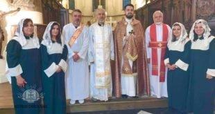 نيافة الاسقف مار أوراهام يوخانس، أسقف غرب أوربا، يقوم بزيارة رعيتي بلجيكا ولكسمبورغ ويعين كاهن لهما