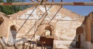 في زيارة الخورأسقف أوكن داود الى مدينة الرمادي، محافظ الانبار يبدي استعداده لتأهيل كنيسة مار كيوركيس في ناحية الحبانية
