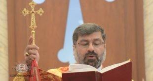 رسامة الاسقف مار ايليا اسحق، اسقفاً على بغداد، جورجيا وأوكرانيا، لكنيسة المشرق الآشورية