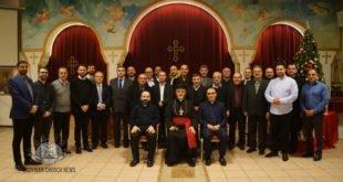 الإجتماع الأول لِشمامِسة أبرشية إسكندنِافيا وألمانيا برئاسة نيافة الأسقف مار عوديشو أوراهام